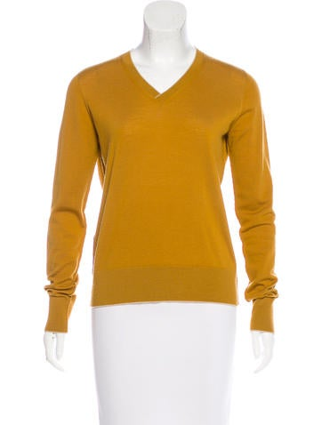 The Row Wool Long Sleeve Sweater None