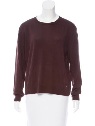 The Row Knit Crew Neck Top None