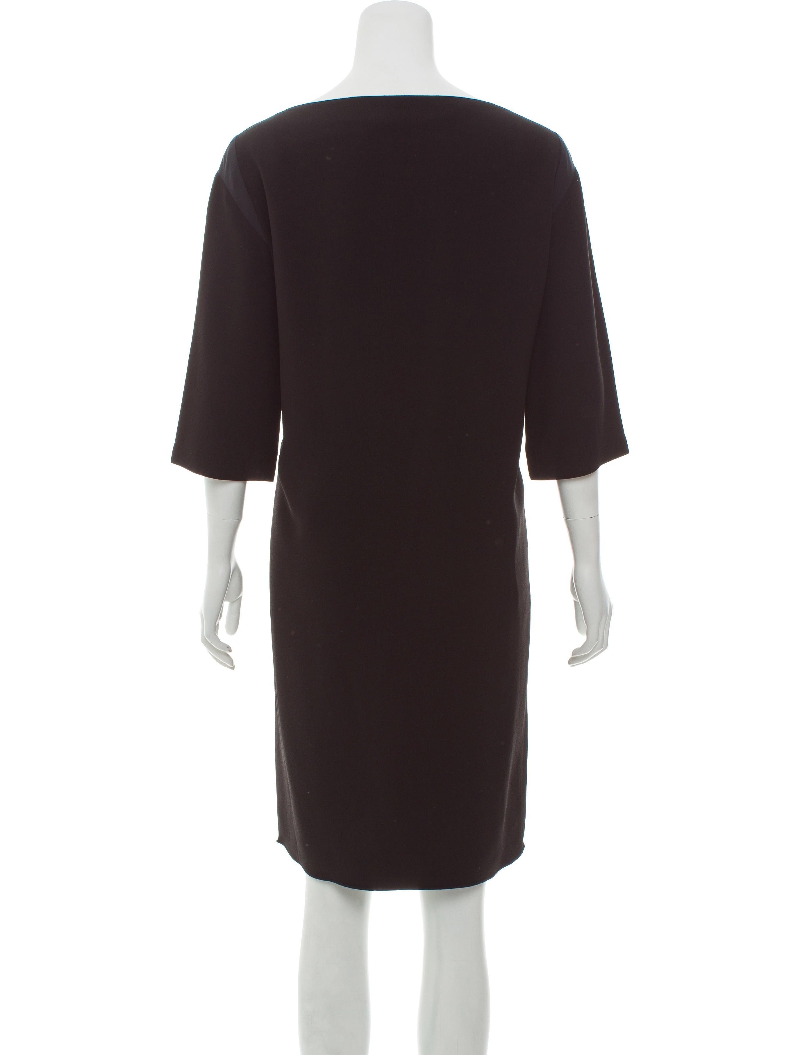 the row kneelength shift dress clothing thr34562
