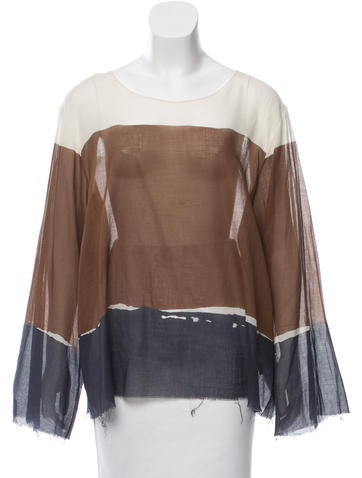 The Row Oversize Long Sleeve Top w/ Tags None