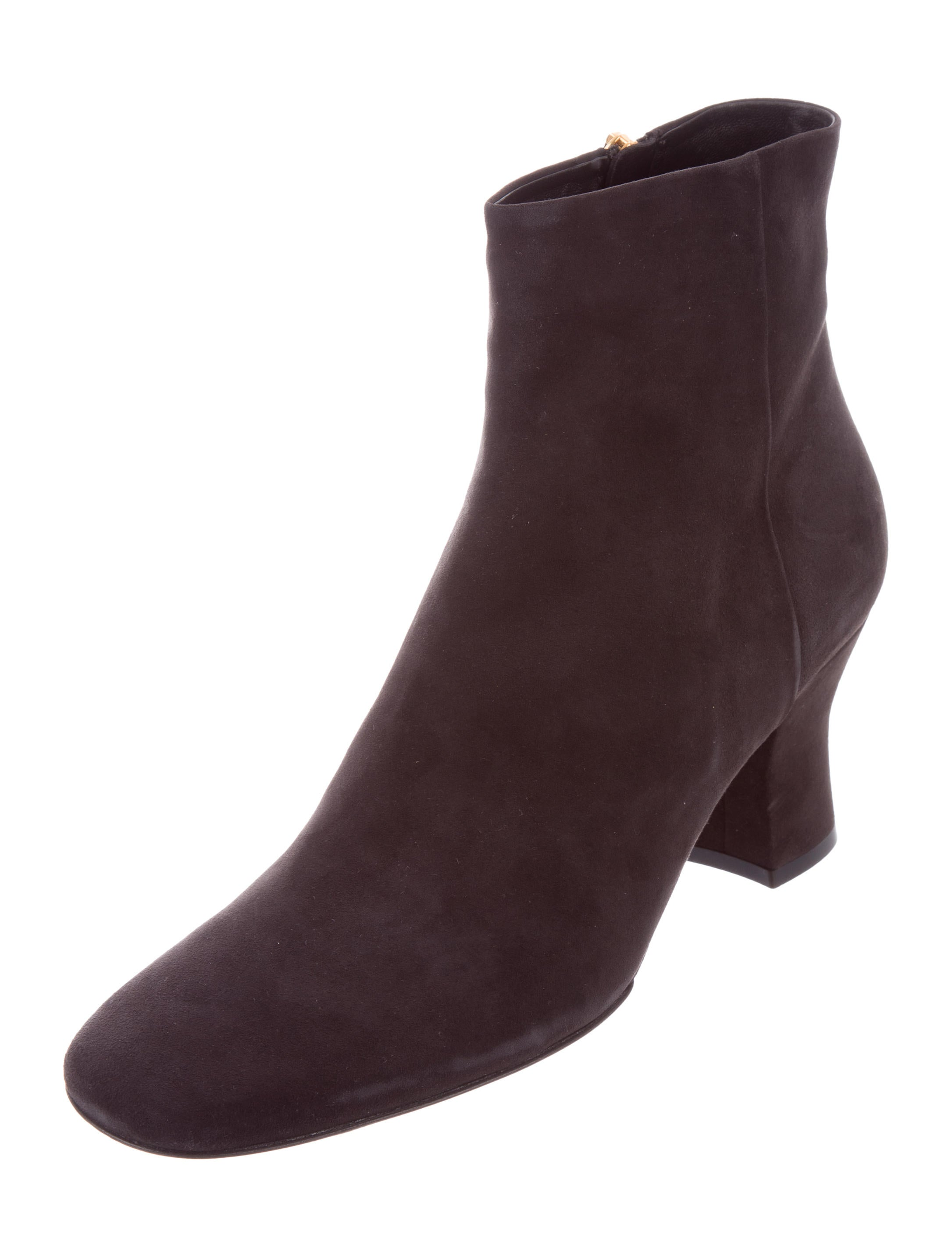 The Row Bowin Suede Ankle Boots w/ Tags release dates for sale QsE61H1HdJ