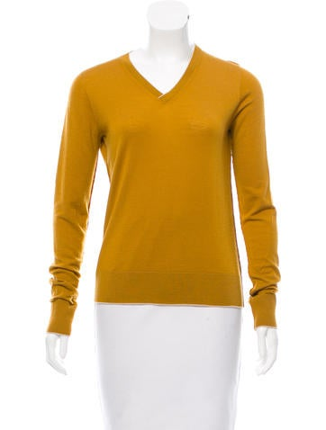 The Row Long Sleeve Wool Sweater None