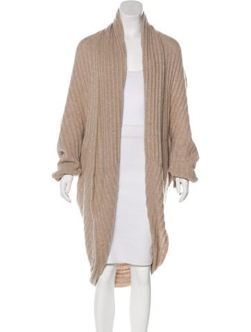 The Row Oversize Knit Cardigan None