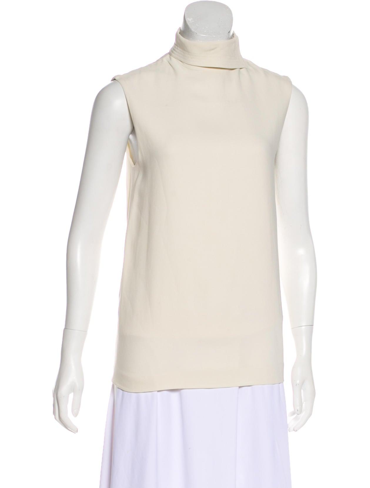 The Row Sleeveless Mock Neck Top Clothing Thr35631