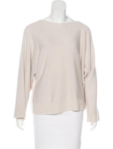 The Row Cashmere Knit Sweater None