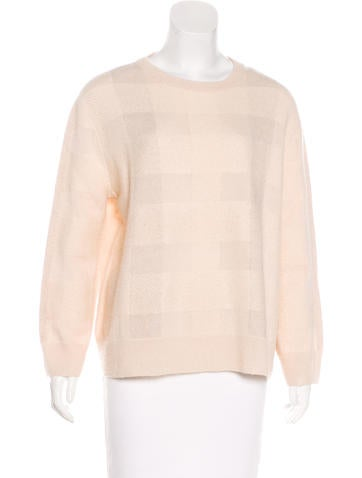 The Row Cashmere & Silk Blend Sweater None