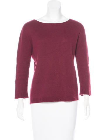 The Row Cashmere Long Sleeve Sweater None