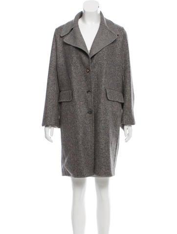 The Row Oversize Notch Lapel Coat None