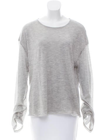 The Row Layered Long Sleeve Top None