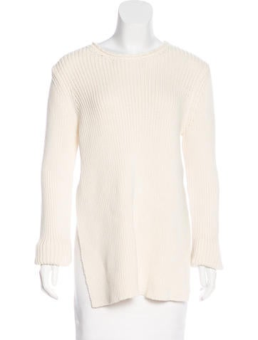 The Row Rib Knit Long Sleeve Sweater w/ Tags None