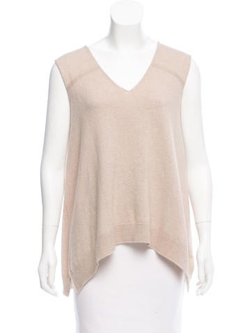 The Row Flared Knit Top None