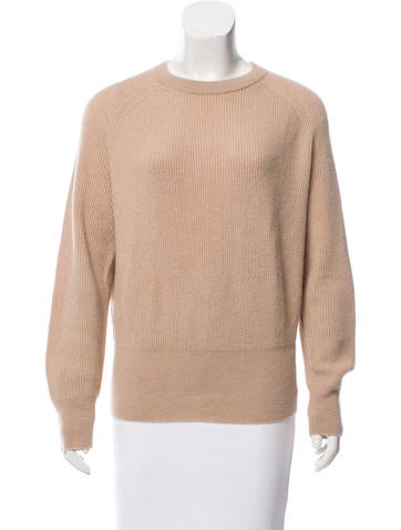 The Row Camel Hair Oversize Sweater None