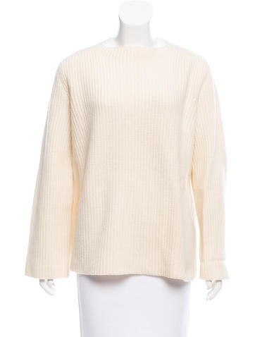 The Row Oversize Rib Knit Sweater None