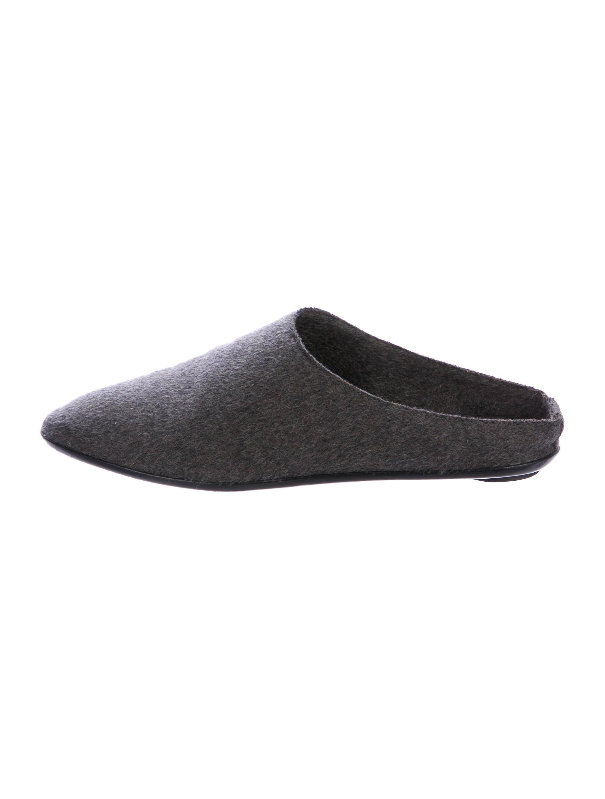 The Row Bea Round-Toe Slippers buy cheap enjoy aBc54