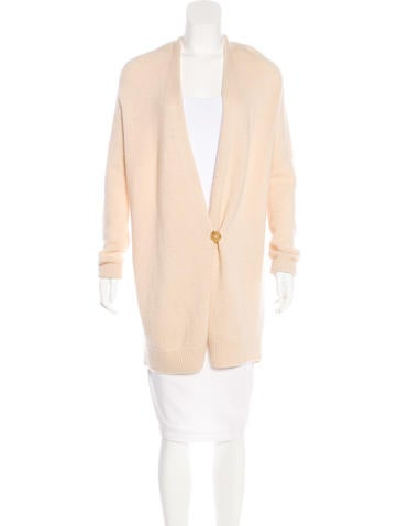 The Row Cashmere-Blend Cardigan None