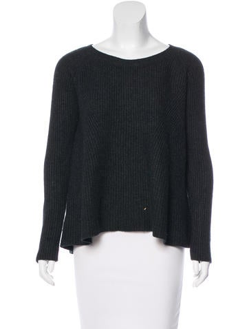 The Row Long Sleeve Knit Sweater None