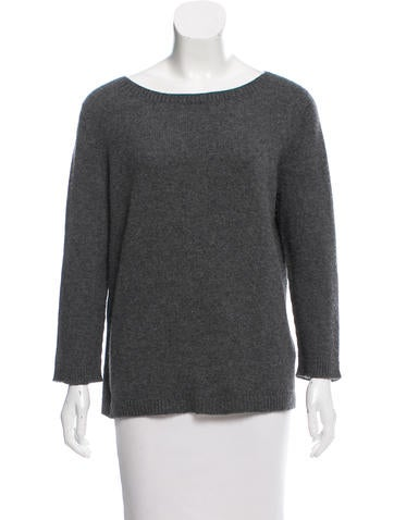 The Row Cashmere Scoop Neck Sweater None