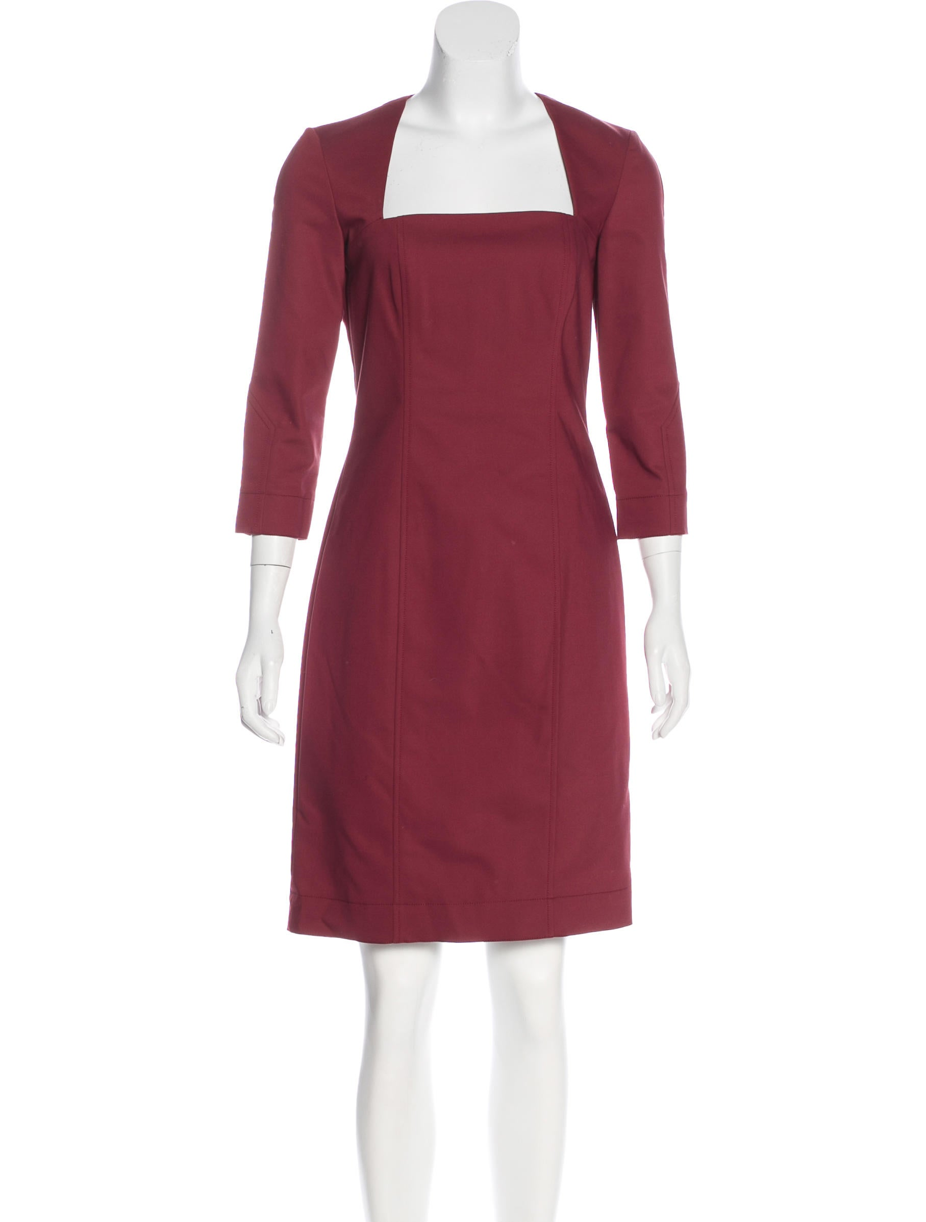 Shop three quarter sleeve dress at Neiman Marcus, where you will find free shipping on the latest in fashion from top designers.