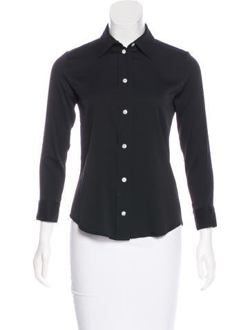 The Row Lotra Silk Top None