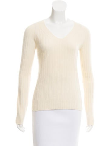 The Row Textured Knit Sweater None