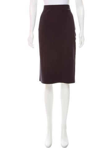 The Row Knit Knee-Length Skirt None