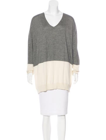 The Row Cashmere-Blend Sweater None