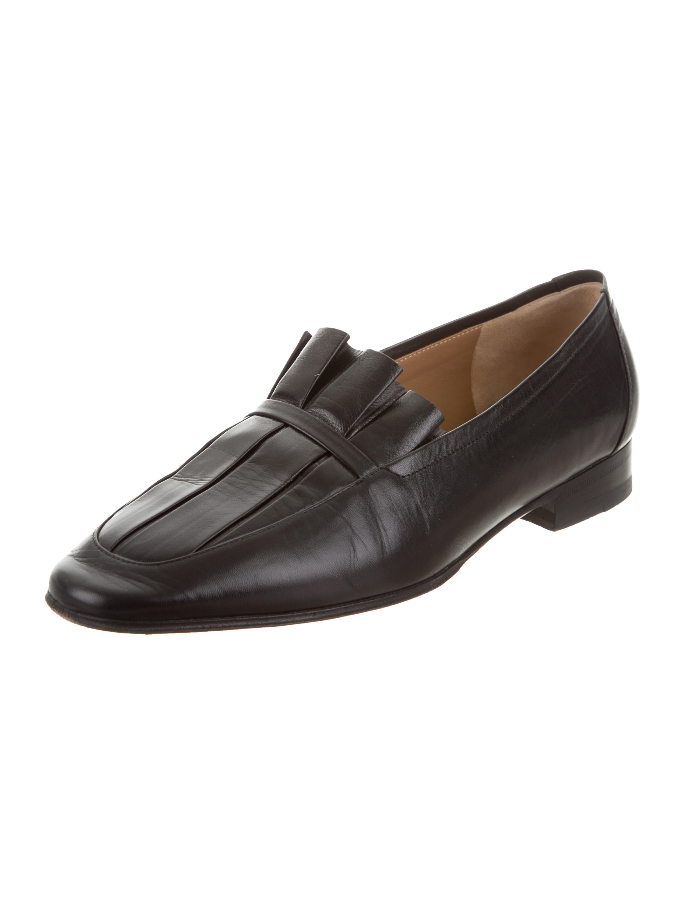 The Row 2017 Adam Pleated Loafers sale sale online outlet wholesale price looking for sale online cOJ8UIA