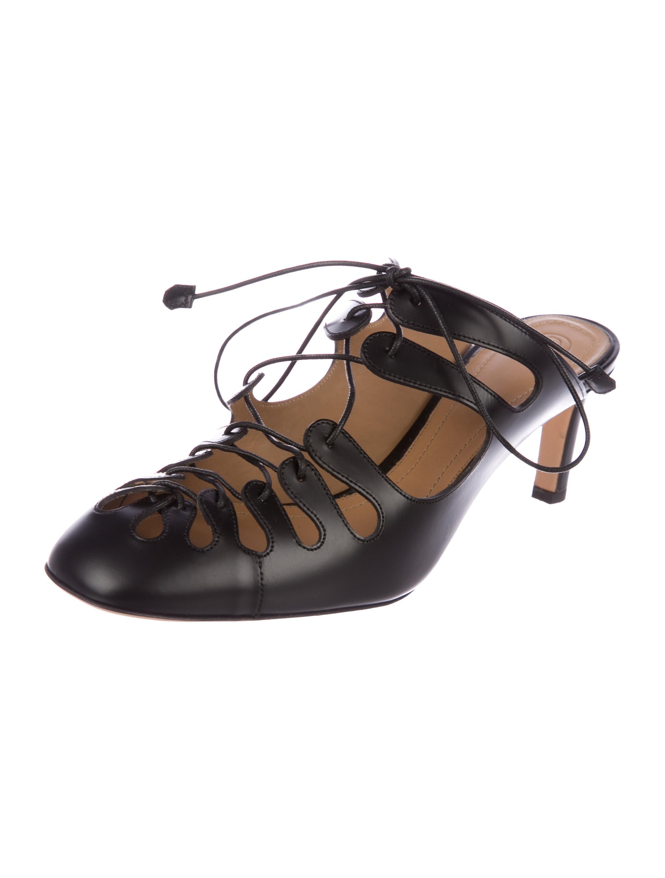 buy cheap exclusive The Row Dixie Lace-Up Mules w/ Tags fast delivery cheap price shipping outlet store online discount get authentic new zVFCik
