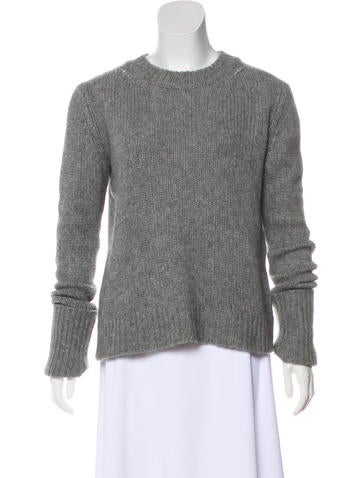 The Row Knit Cashmere Sweater None