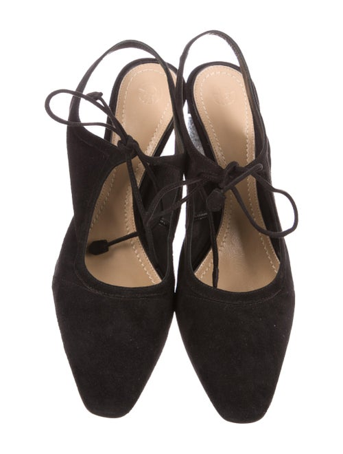 0c9b56f3675 The Row 2017 Camil Suede Pumps - Shoes - THR39699