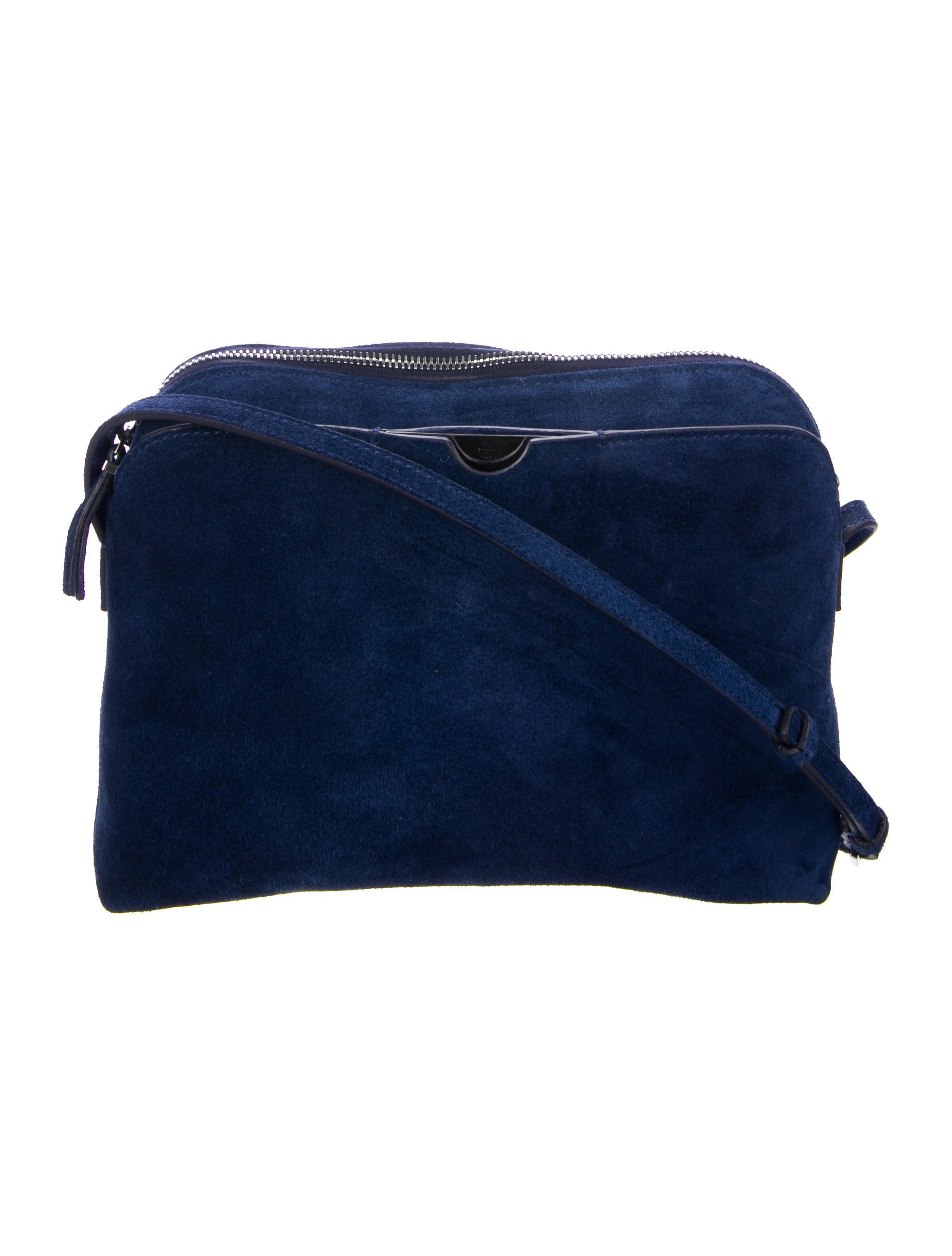 d24b0cad0 The Row Suede Multi-Pouch Crossbody Bag - Handbags - THR40137   The ...