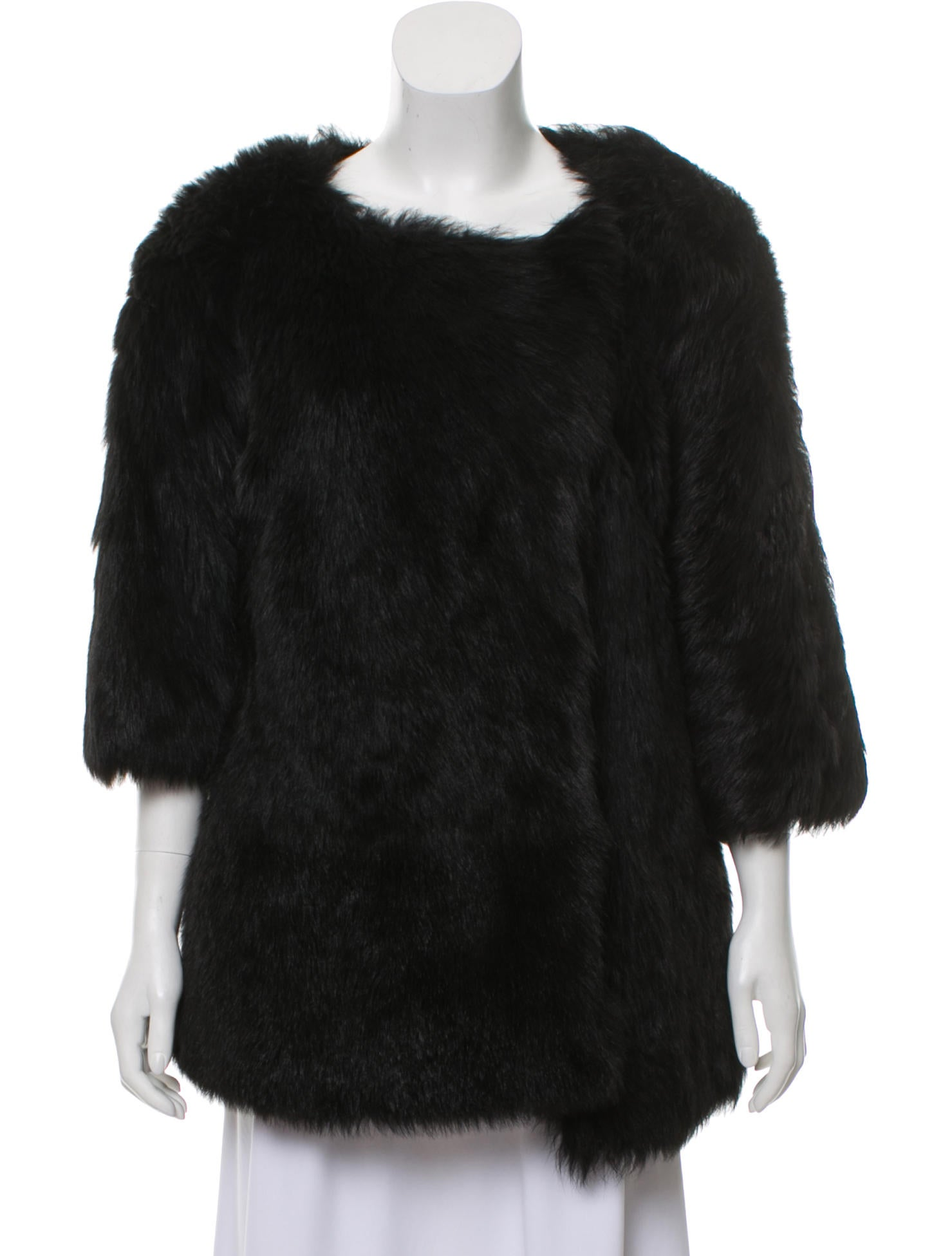 The Row Oversize Fur Coat Clothing Thr48019 The Realreal