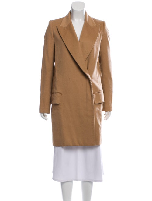 The Row Camel Hair Double-Breasted Coat