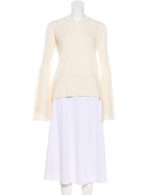 The Row Cashmere Bell Sleeve Sweater