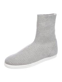 The Row Dean Sock Printed Sock Sneakers w/ Tags