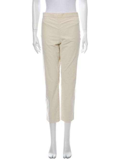 The Row Straight Leg Pants White