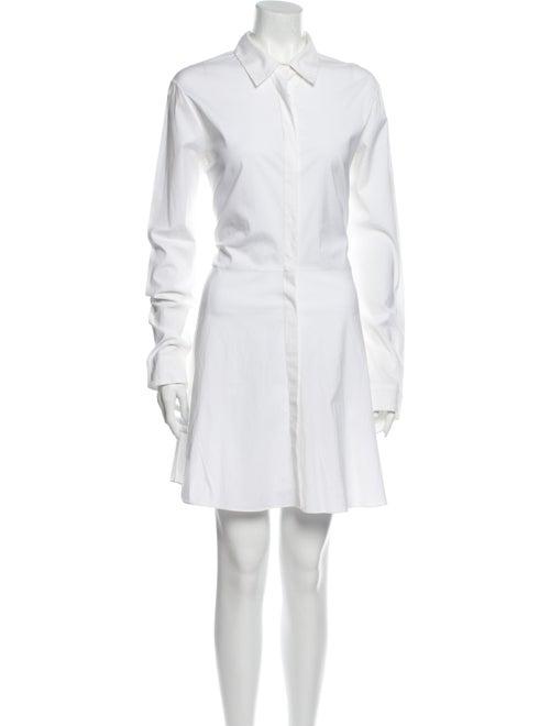 The Row Mini Dress White