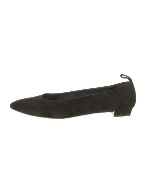 The Row Suede Flats Black - image 1