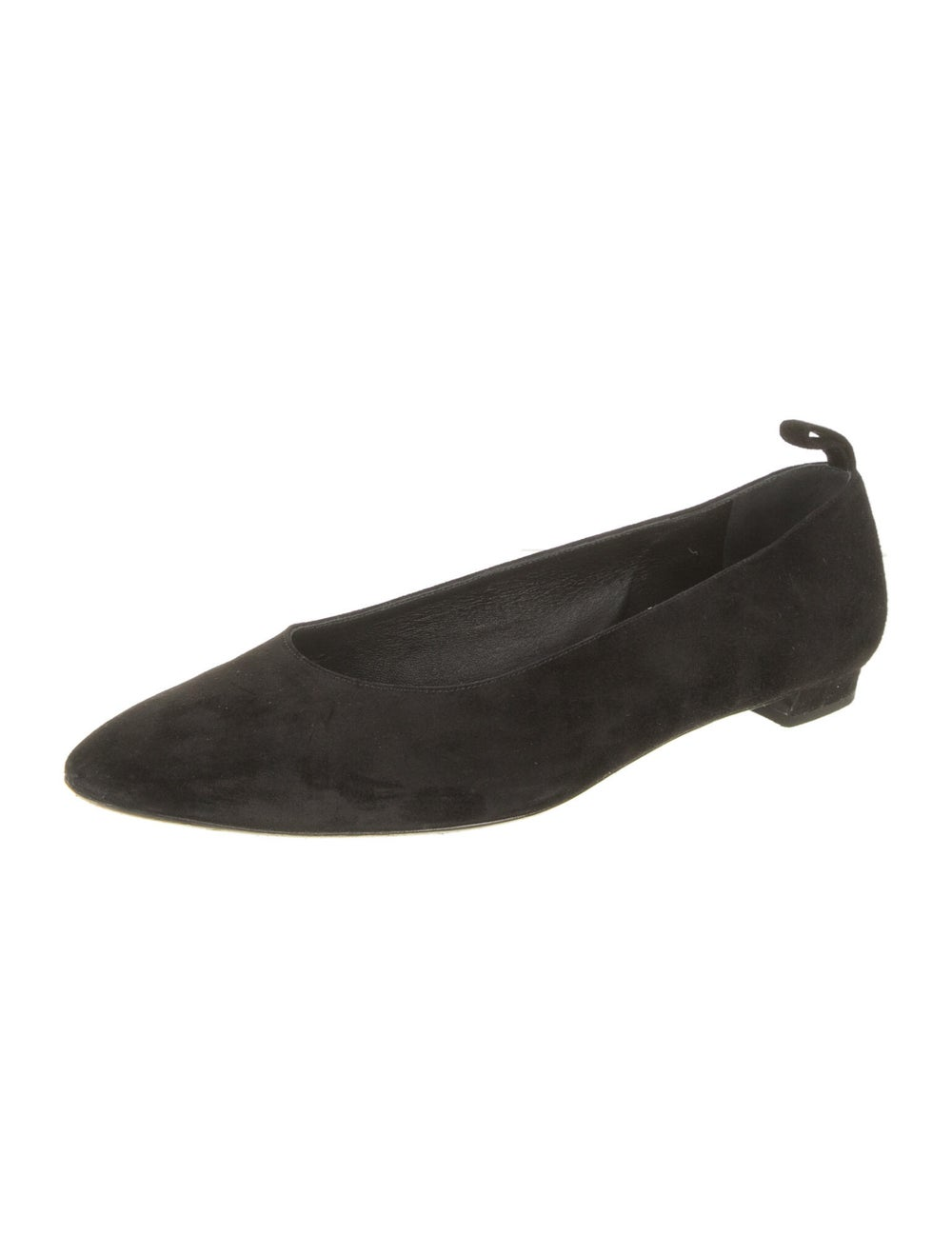 The Row Suede Flats Black - image 2