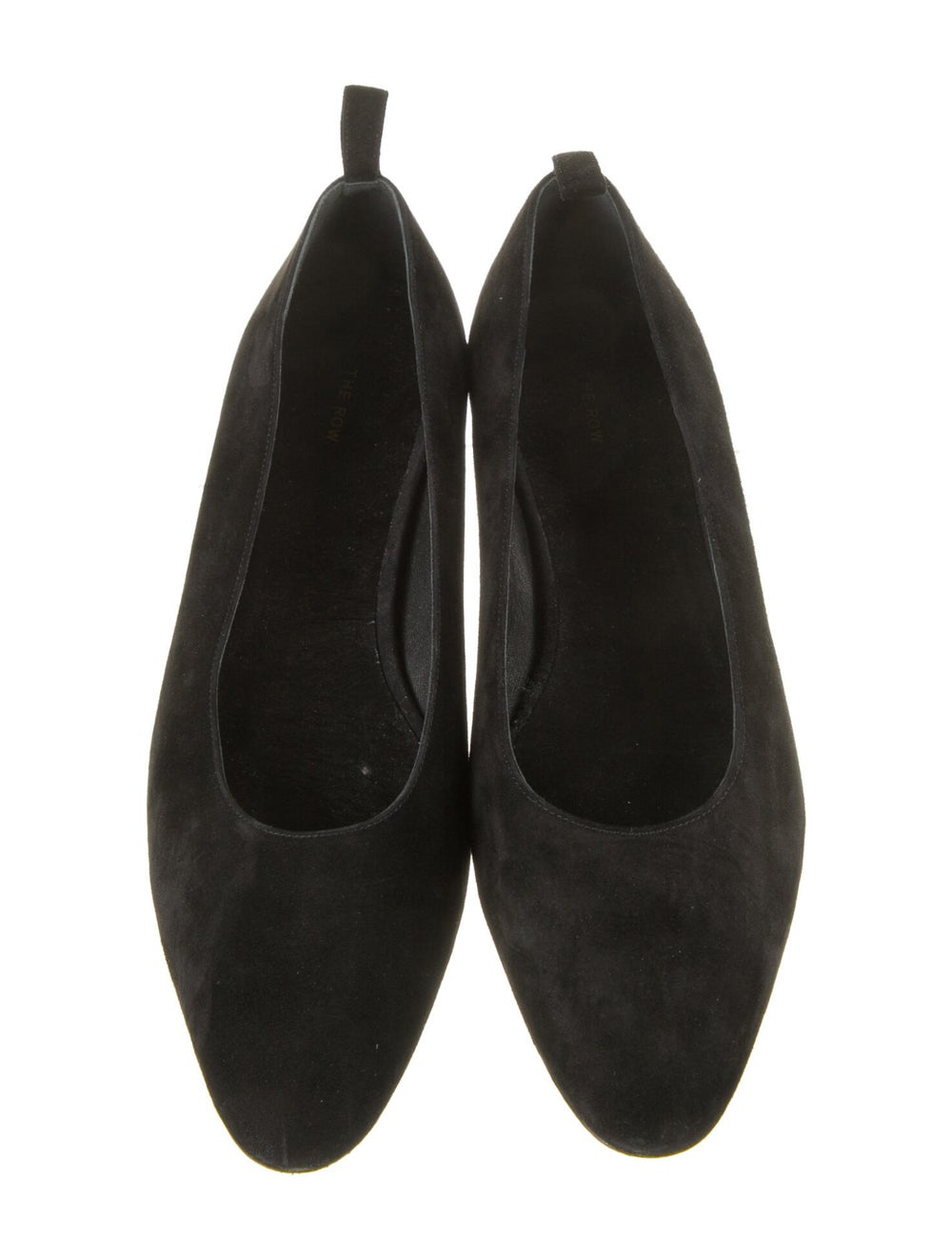 The Row Suede Flats Black - image 3