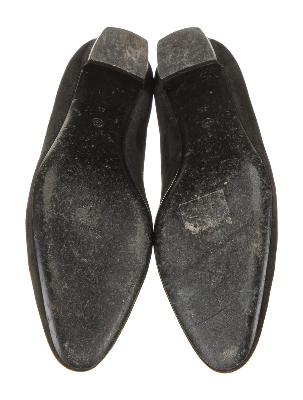 The Row Suede Flats Black - image 5