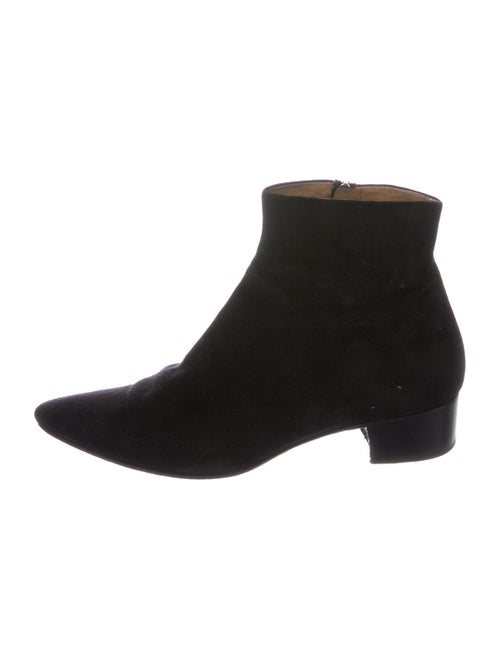 The Row Suede Boots Black - image 1