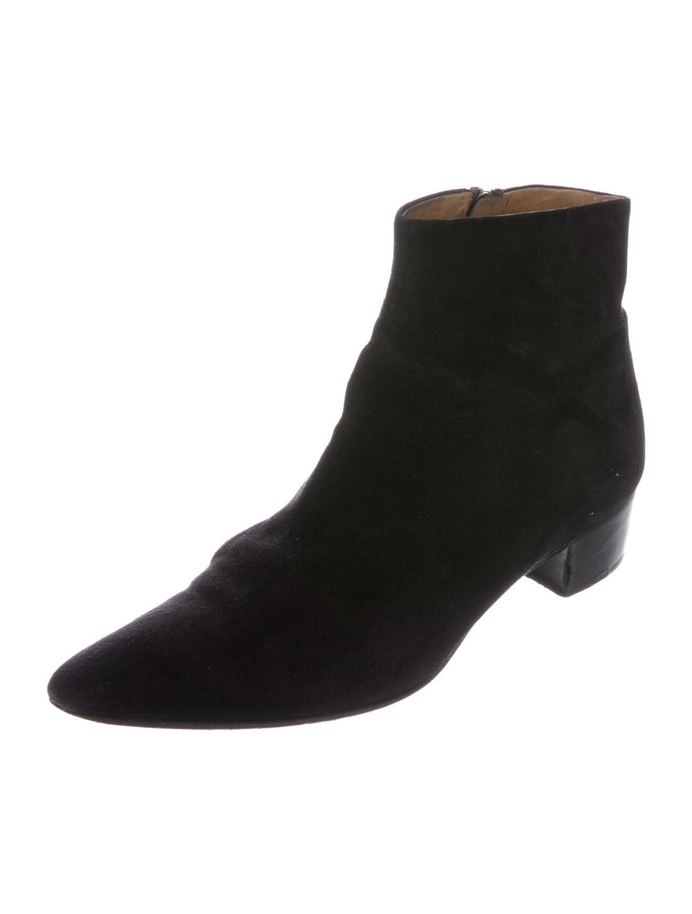 The Row Suede Boots Black - image 2