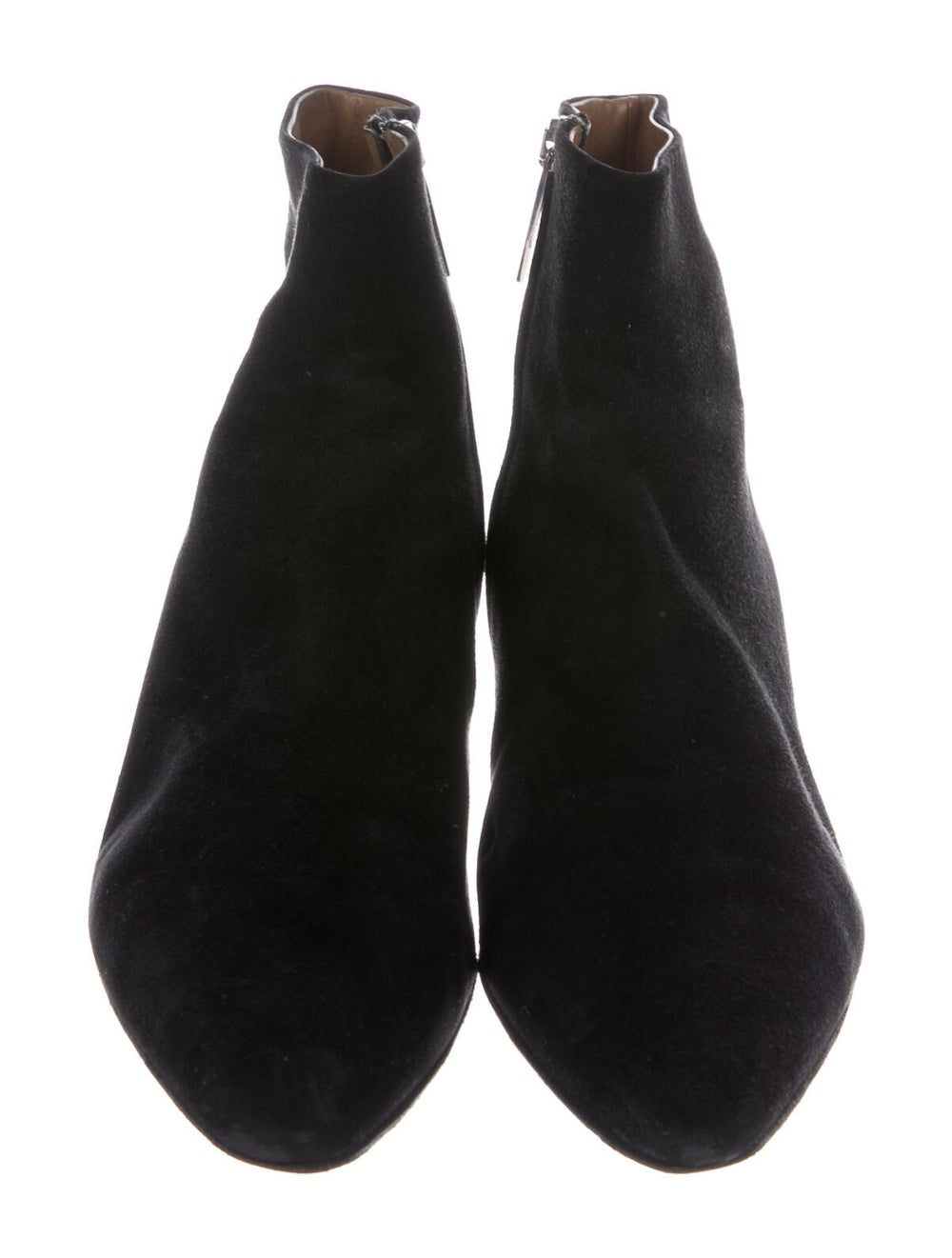The Row Suede Boots Black - image 3