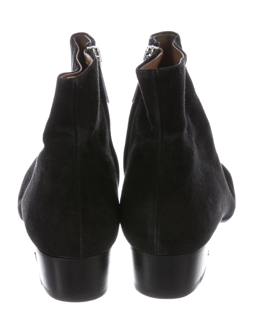 The Row Suede Boots Black - image 4