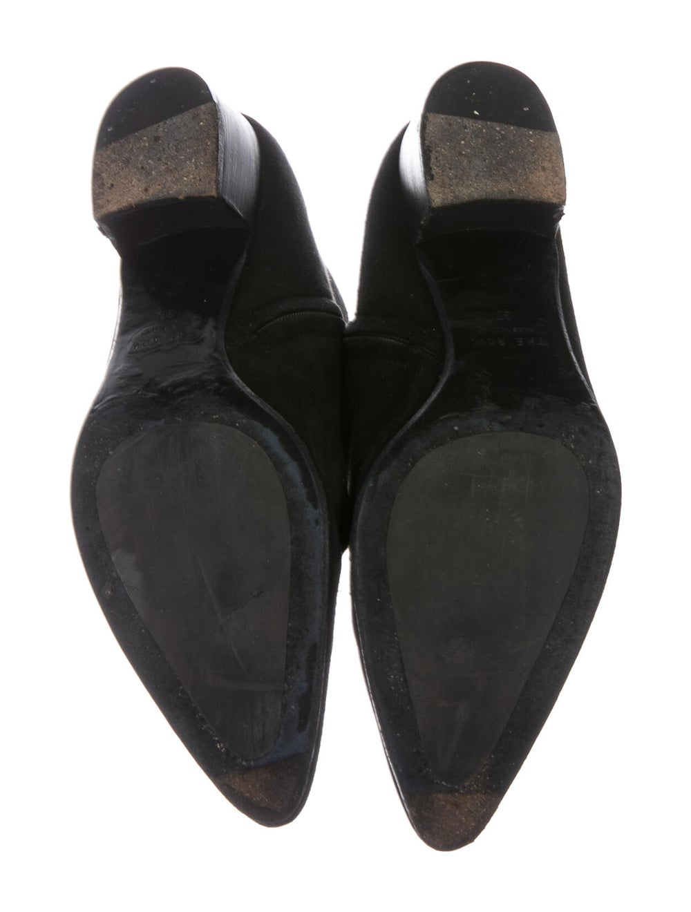 The Row Suede Boots Black - image 5