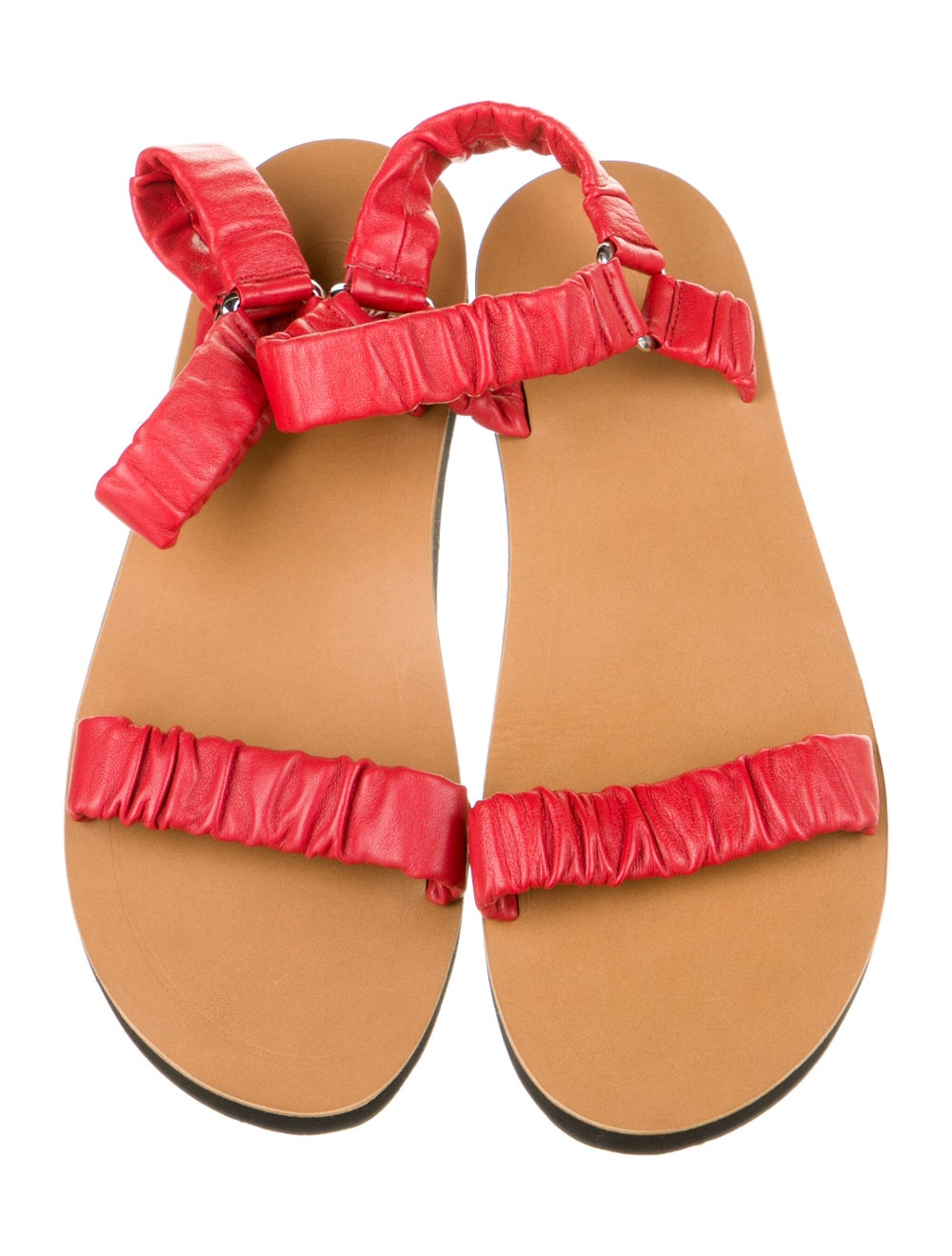 The Row Leather Sandals Red - image 3