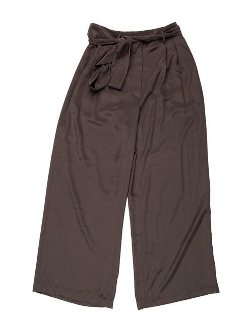 The Row Wide Leg Pants Green