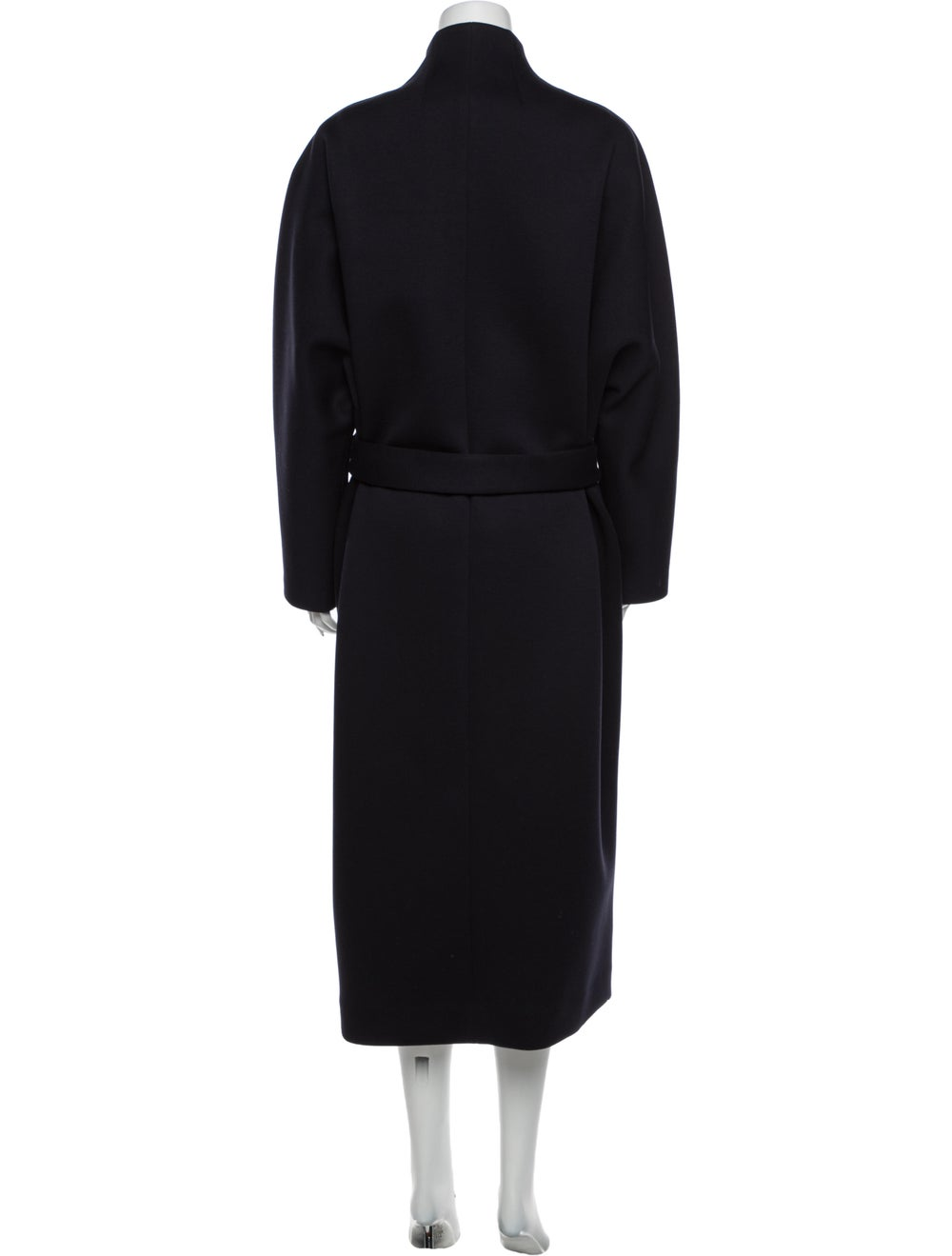 The Row Trench Coat Blue - image 3