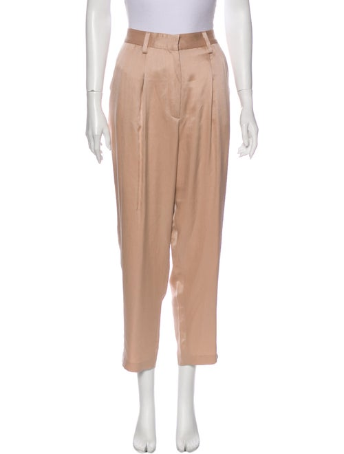 The Row Straight Leg Pants Pink